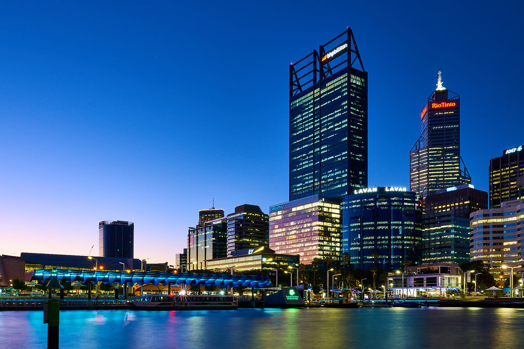lorawan iot case studies city of perth